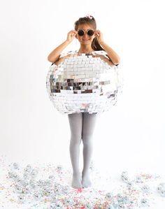 Discokugel Kostüm selber machen | Kostüm Idee zu Karneval, Halloween & Fasching