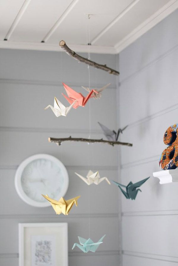 moviles-papel-grullas-origami.jpg (600×899)