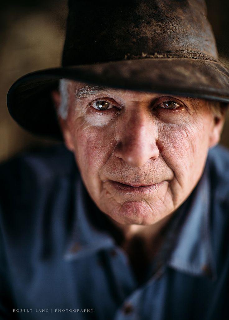 Portrait of an Australian farmer