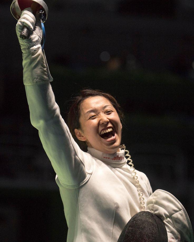【DAY2】フェンシングエペの佐藤希望選手は強豪を破り同種目初の8位入賞。「子どもにメダルをかけてあげたかったけど、(1勝するという)主人との約束は果たせたので、笑顔で帰りたい」#がんばれニッポン #フェンシング #Rio2016