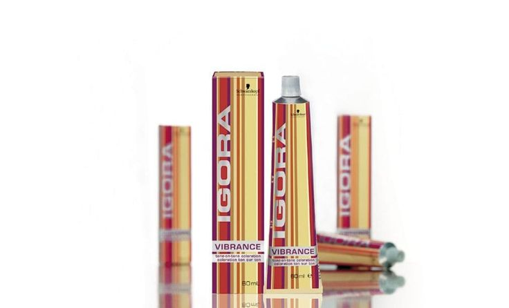 Packaging Design Schwarzkopf Professional IGORA Vibrance
