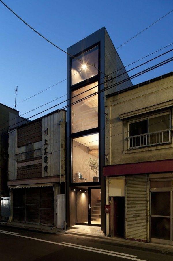 Narrow but Tall Tiny Home