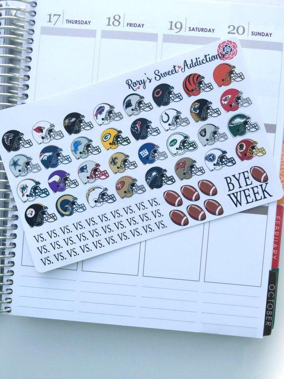 NFL Football Helmets  All 32 Teams by RorysSweetAddictions on Etsy