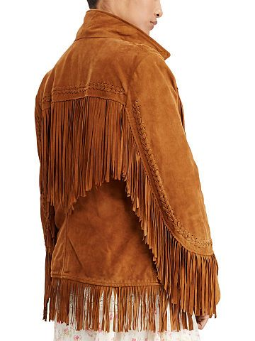 Fringe Suede Jacket - Denim & Supply  Leather & Suede - RalphLauren.com