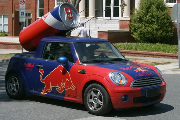 Great Guerrilla Marketing Campaign - Red Bull Marketing