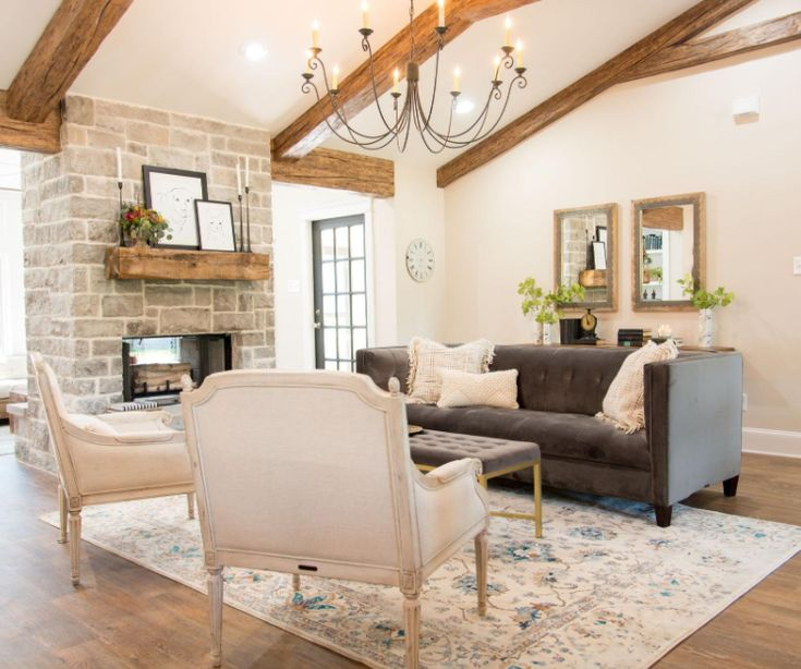 Fixer Upper Season 4 Episode 1 I Love The Stone On Fireplace This Or