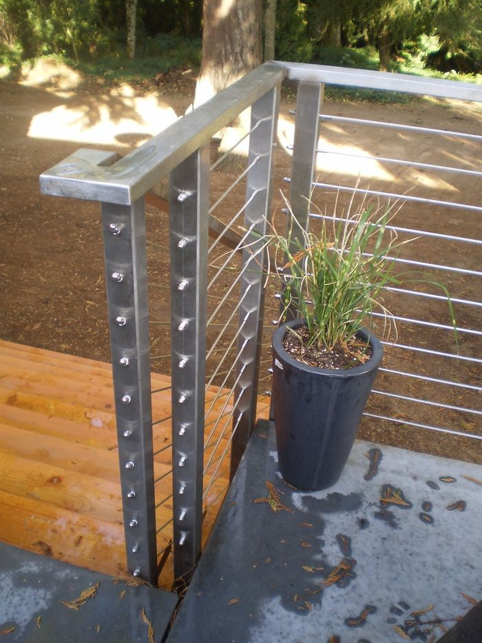 Best Stainless Steel Cable Guardrail Alameda Metalworks 400 x 300