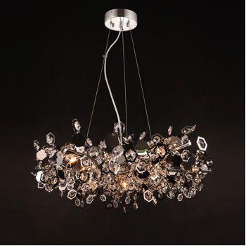 Costco Di Luce Halley Pendant Modern Crystal Light Fixture LightsLight FixtureCostcoDining Room