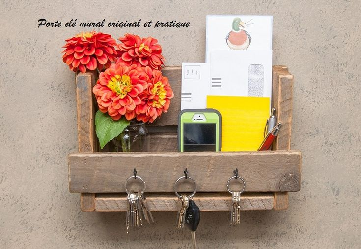 Les 25 meilleures id es concernant porte courrier sur pinterest rangements fabriquer soi for Range courrier mural