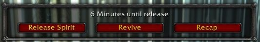Can someone make an addon so that the Release/Recap UI looks like this 24/7 and the revive button goes red when someone uses a brez? #worldofwarcraft #blizzard #Hearthstone #wow #Warcraft #BlizzardCS #gaming