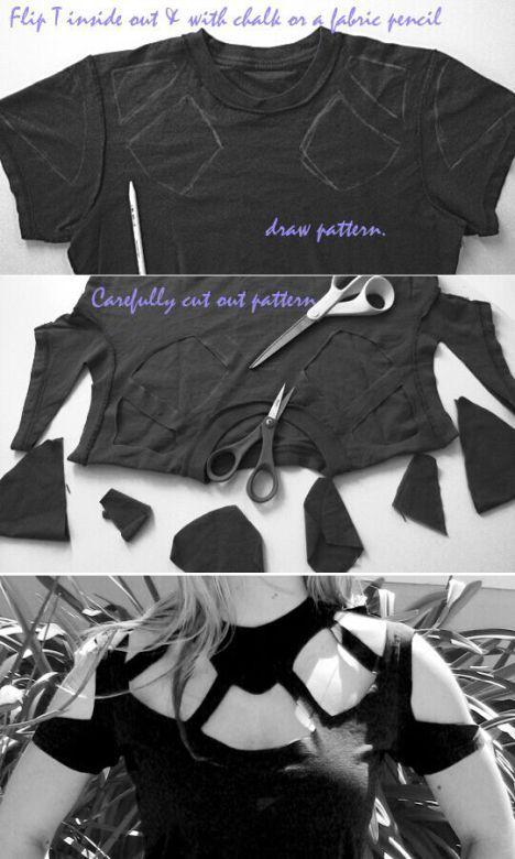 40 Simple No Sew DIY Clothing Hacks, Designs And Ideas