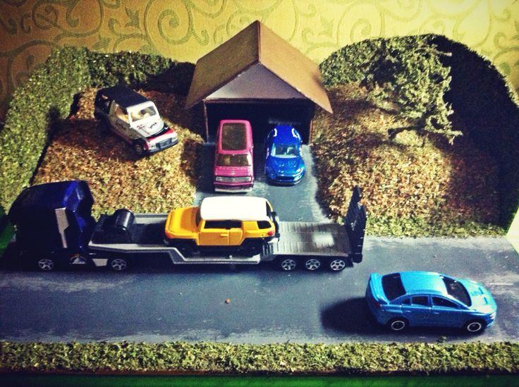 My first diorama