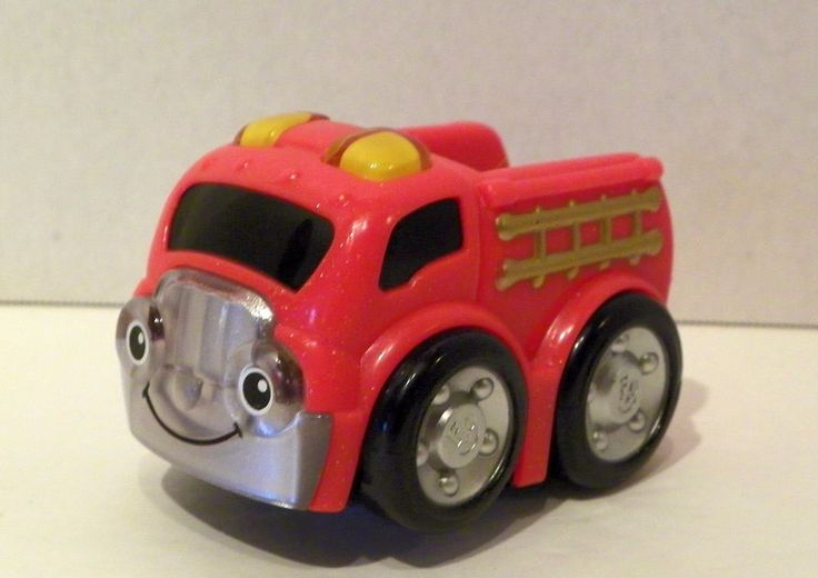 Fisher-Price Lil' Zoomers Rescue Racers Fire Truck Baby Play Vehicle #FisherPrice