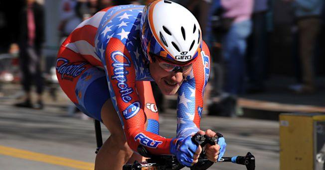 """David Zabriskie es un ciclista estadounidense que a partir de este 2 de julio se convertirá en la primera persona en correr el Tour de Francia, cuya dieta es """"vegana"""", es decir, no incluye ningún producto de origen animal."""