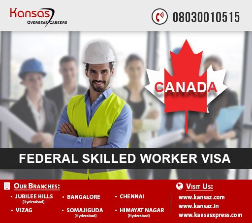 The Citizenship and Immigration Canada, in January 2015, introduced a new selection system; the Canada Express Entry System. The Federal Skilled Worker Visa is one of the four visa application programs managed under the Canada Express Entry. The Federal Skilled Worker Visa basically aids skilled workers to come and work in Canada, contributing greatly to the growth of Canadian economy.