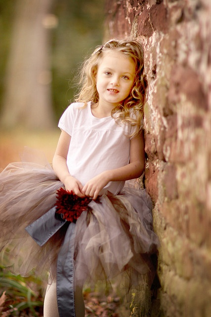 Make Girls Tutus And Go To Park For Photo Session