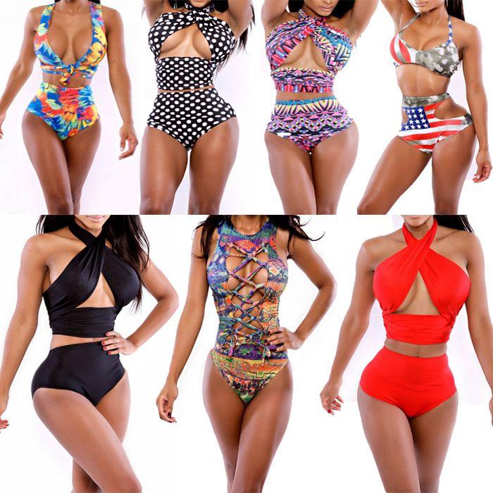 13 best high wasted plus size bikini images on pinterest