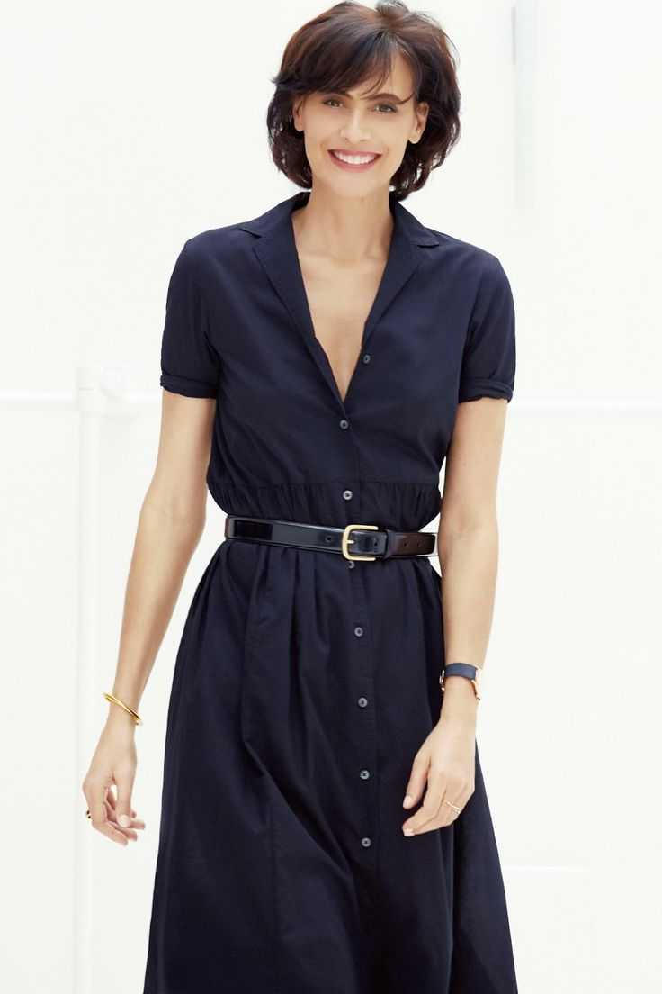 a classic and simple every-day workwear piece. I like how these Ines de la Fressange pieces for Uniqlo had longer hemlines but were still super sexy.