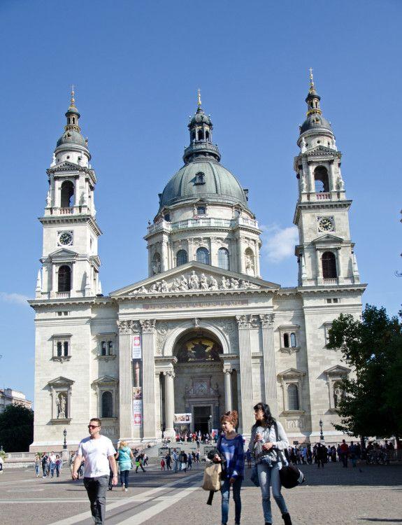 Pristine architecture in Budapest