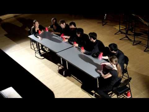 Cups! (Fall 2009) - THUD - a Musical Canon Variation of the Classic Cup Game by Harvard Music Students