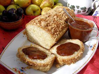 W Mojej Kuchni Lubię.. : prosta drożdżówka śniadaniowa lub podwieczorkowa.....