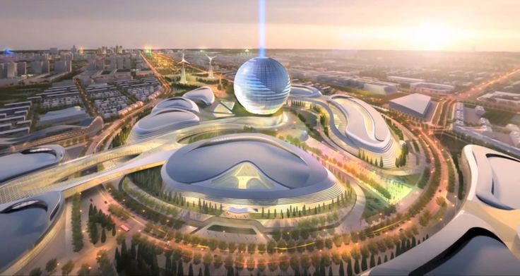 In 2017, the capital of Kazakhstan will look like the set of a utopian sci-fi movie. A titanic new capital will rise from the old city, powered by sun and wind. Officials in Kazakhstan's capital city of Astana have chosen a final design for the massive site that will host the World EXPO 2017. The sprawling, wind- and sun-powered neighborhood was designed by Chicago architects Adrian Smith + Gordon Gill Architecture