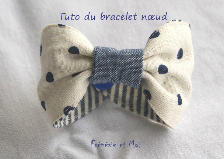 Tuto bracelet nœud  DIY # frénésie et moi