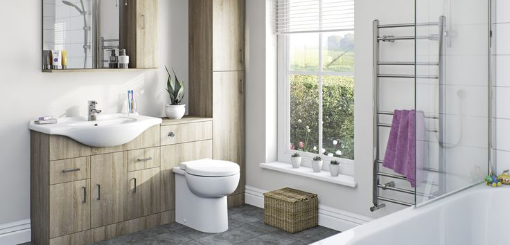 Sienna Oak Bathroom Furniture