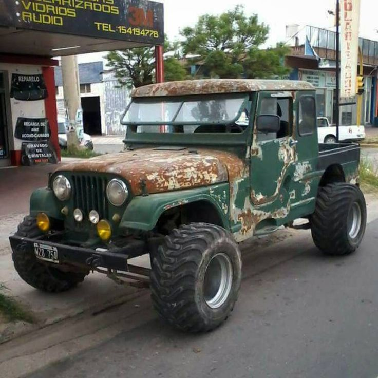 """3,006 Likes, 14 Comments - InstaJeepThing (@instajeepthing) on Instagram: """"This old beast from Argentina is making the rounds on fb. Love it! www.instajeepthing.com #jeep…"""""""