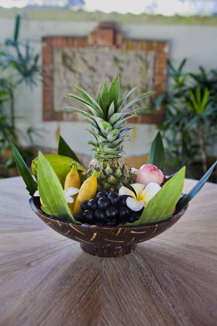 Anjani Villa Welcoming Fruit Basket