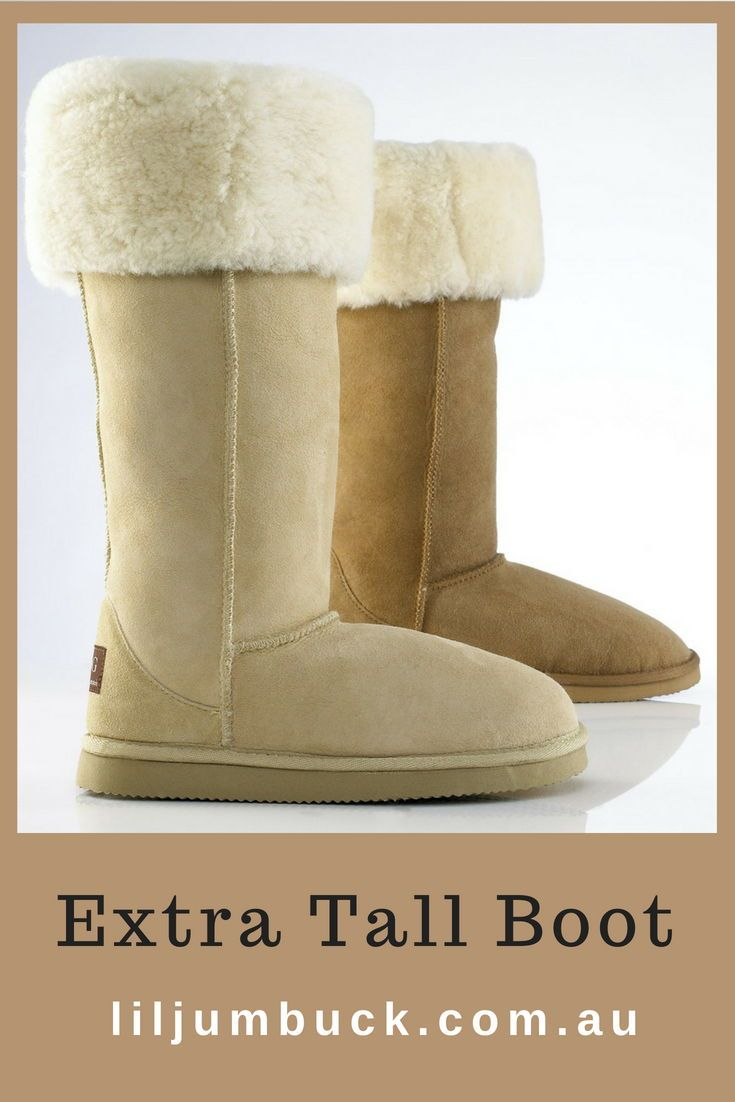 9aa96e0f384 Extra tall ugg boots to make a fashion statement. This high grade ...