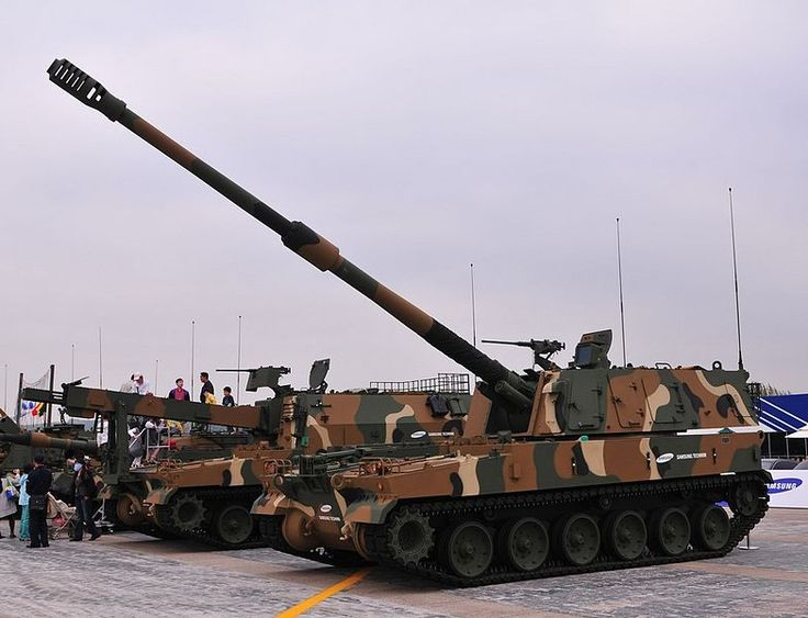 K9 Thunder 155 mm Self-Propelled Howitzer South Korean Army
