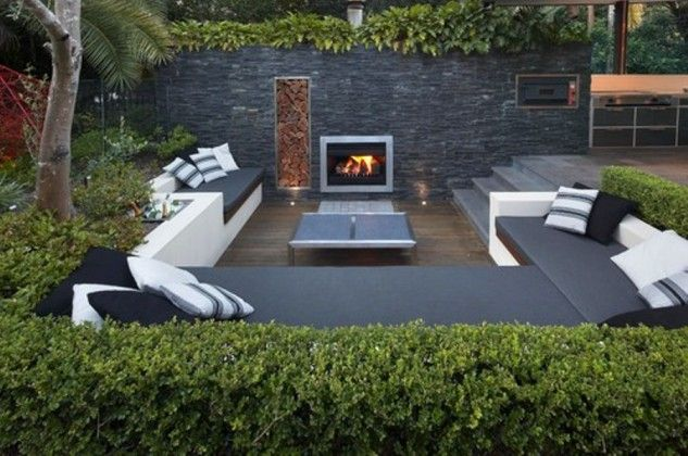 ... Garden Design With Modern Backyard Designs To Enjoy Without Leaving The  Comforts With Backyard Gardens From