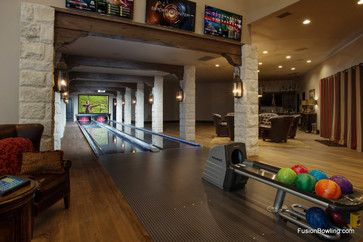 Home bowling alley design ideas pictures remodel and for House plans with bowling alley