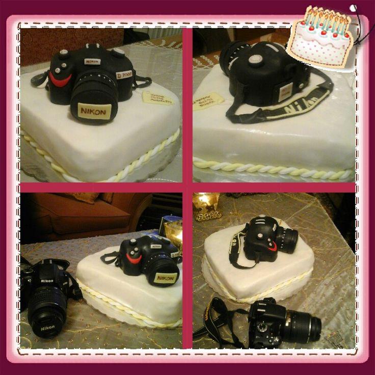 Nikon camera cake!!