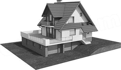 Rzut projektu Kasinka DM-6031