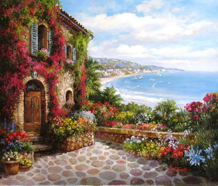 La magia y el encanto del color del cuadrado de la artista Micko Vic