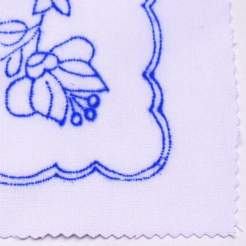 ハンガリー刺繍図案入りクロス-オールドカロチャの図案