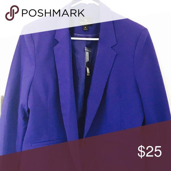 Bright Purple Blazer Beautiful blazer just in time for spring Worthington Jackets & Coats Blazers