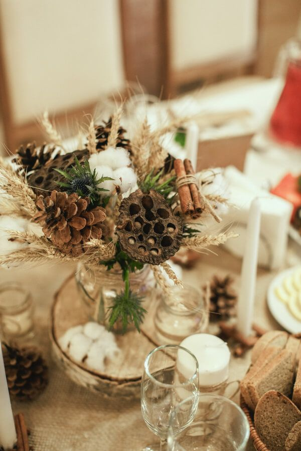 Стиль рустик зимой или теплая свадьба в Ульяновске (Марина и Сергей)