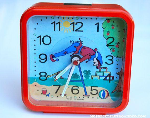Les 13 meilleures images propos de vintage clocks sur for Horloge eames