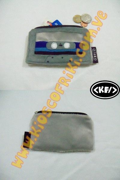 Retro Monedero Cassette