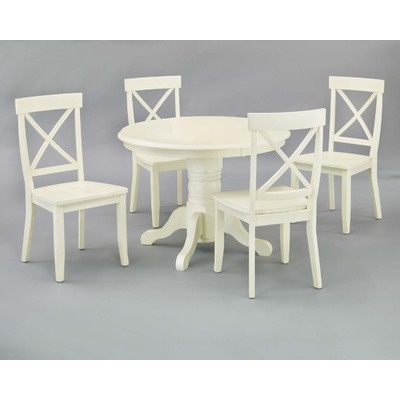 14 best kitchen tables and chairs images on pinterest for Off white round dining table