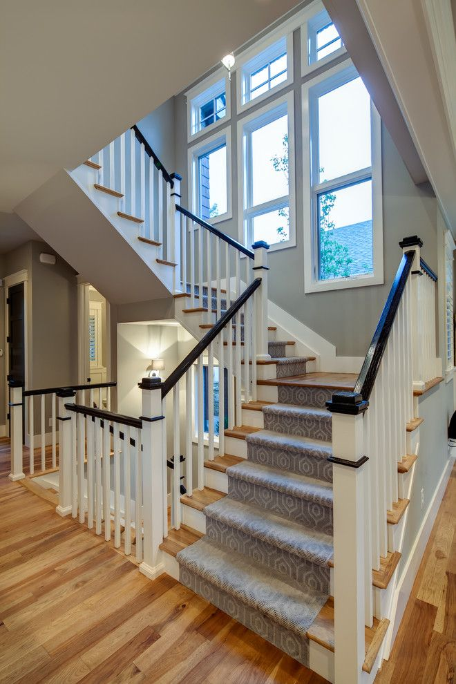 carpet runner for stairs Spaces with gray carpet rinner