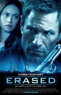Great spy flick - along the lines of a Jason Bourne character portrayed by Aaron Eckhart. Good McGyver kind of free form ingenuity, diverse skills as a agent: fluency in multiple languages, electronics, resourceful investigation and survival skills. Well worth watching is you like a good spook movie.
