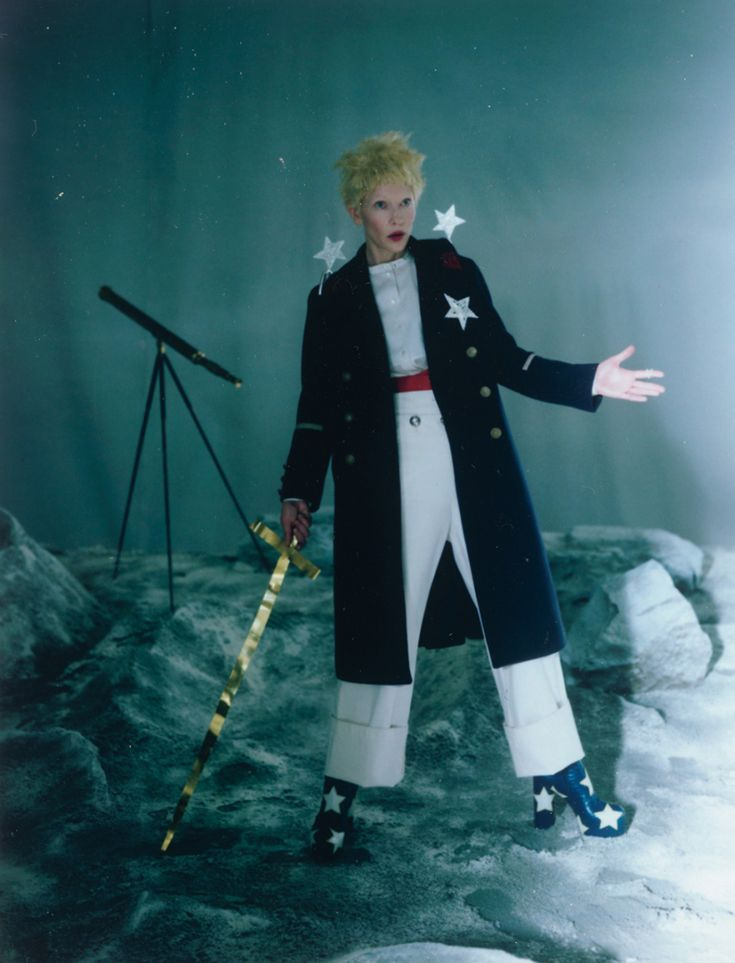 Cate Blanchett by Tim Walker foe W Magazine December 2015