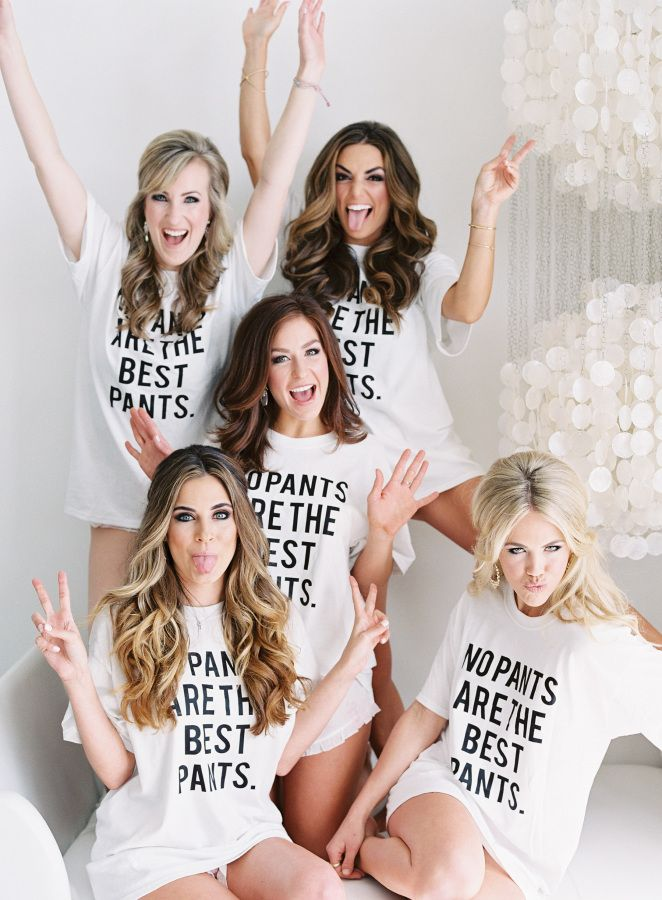 Fun with the bridesmaids: http://www.stylemepretty.com/2016/03/22/its-official-this-bridesmaid-crew-is-what-squadgoals-are-all-about/ | Photography: Allison Kuhn - http://allisonkuhnphotography.com/
