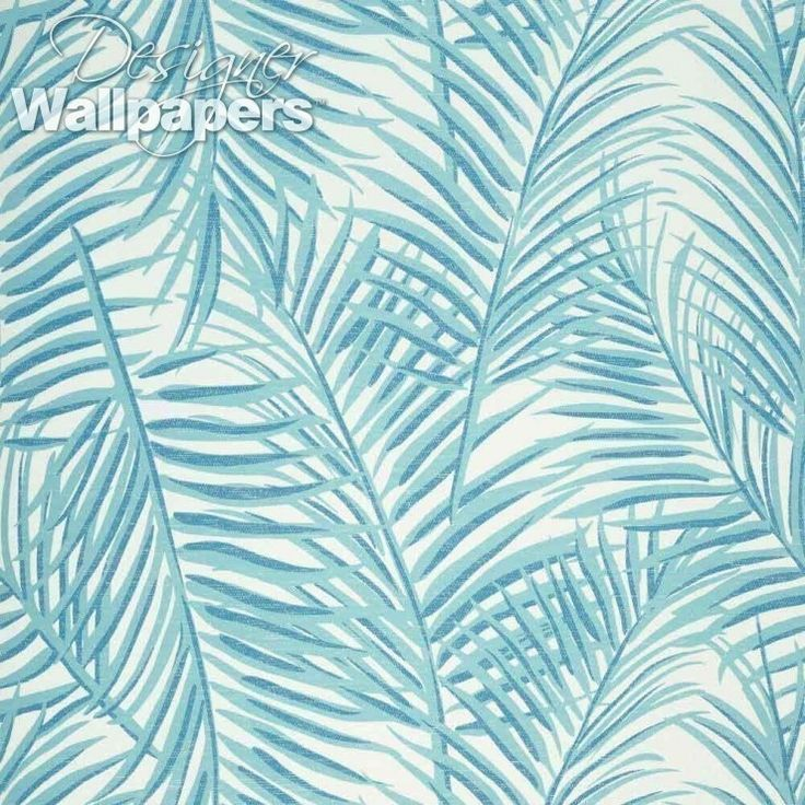 The gorgeously tactile paperweave wallpaper West Palm is both beautifully textured and exquisitely designed. Featuring illustrated large narrow palm leaves sweeping upwards and with a sensation of swaying in the breeze, this is an uplifting design with a definite touch of the tropical. One of 12 new patterns from Thibaut's aptly-named Summer House collection.