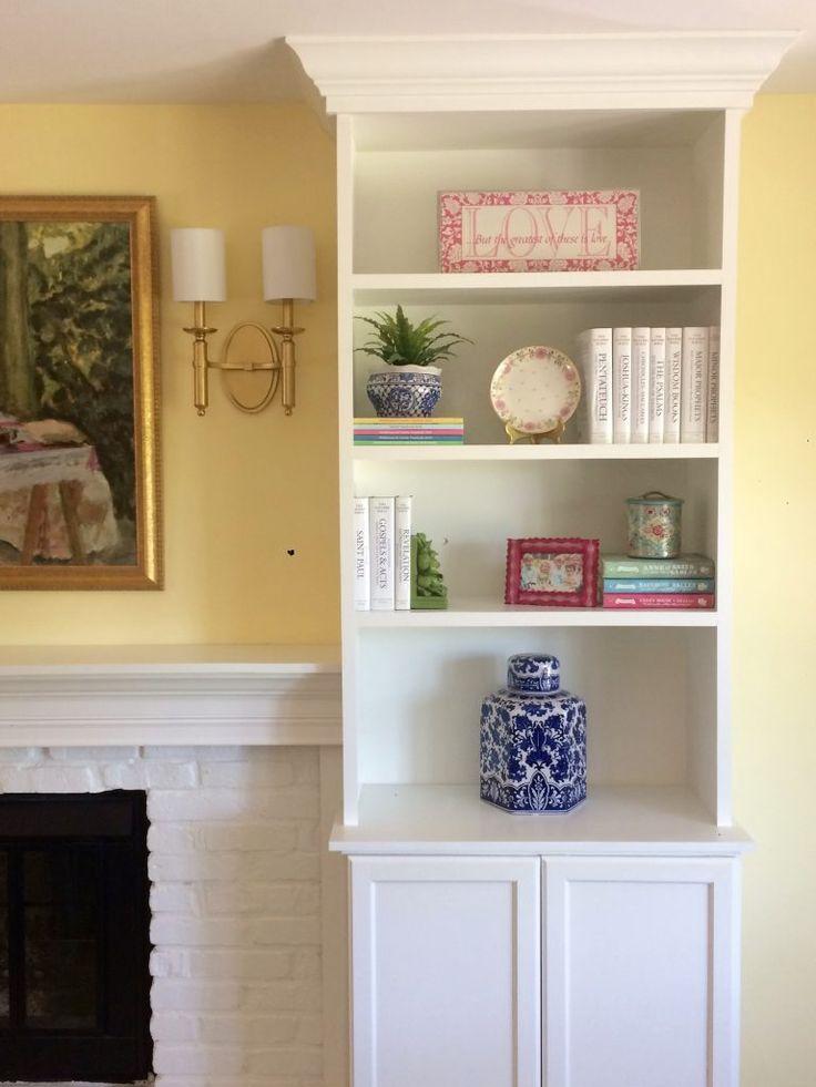 Fireplace Design fireplace bookshelves : Best 20+ Bookshelves around fireplace ideas on Pinterest | Shelves ...