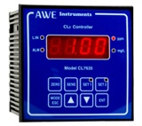 The AWE Instruments pH7635 pH controller.   A design classic which features two relays, an alarm relay and a 4-20mA output signal.  These pH controllers can be found throughout the world on both working as process controllers and as effluent treatment controllers.